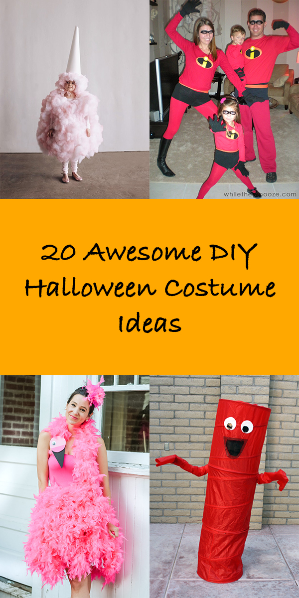 20 Awesome DIY Halloween Costume Ideas