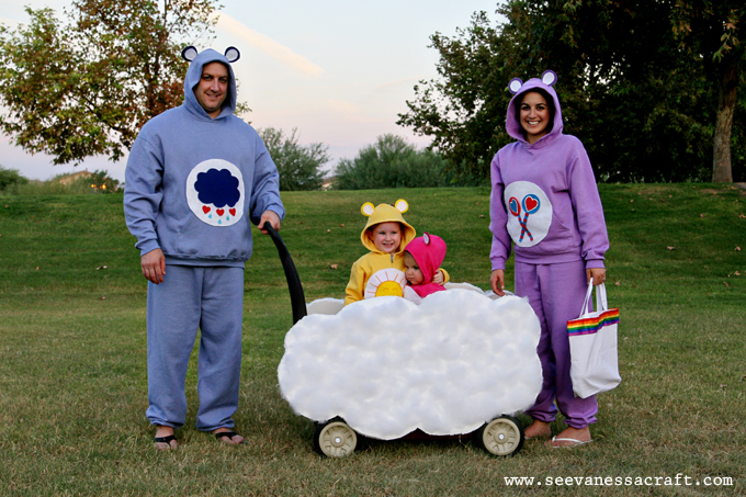 No-Sew Care Bear Costumes
