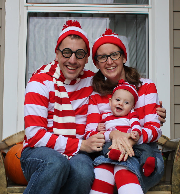 Where's Waldo Family Halloween Costumes