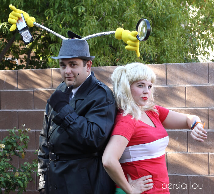 inspector Gadget and Penny costumes