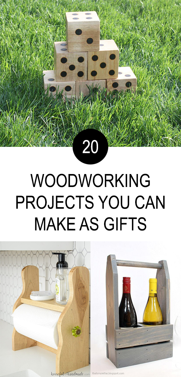 20 Woodworking Projects You Can Make as Gifts