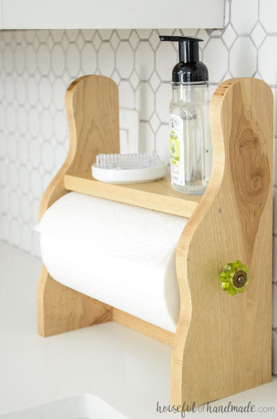 Farmhouse Paper Towel Holder