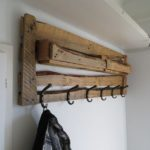 Pallet Coat Rack