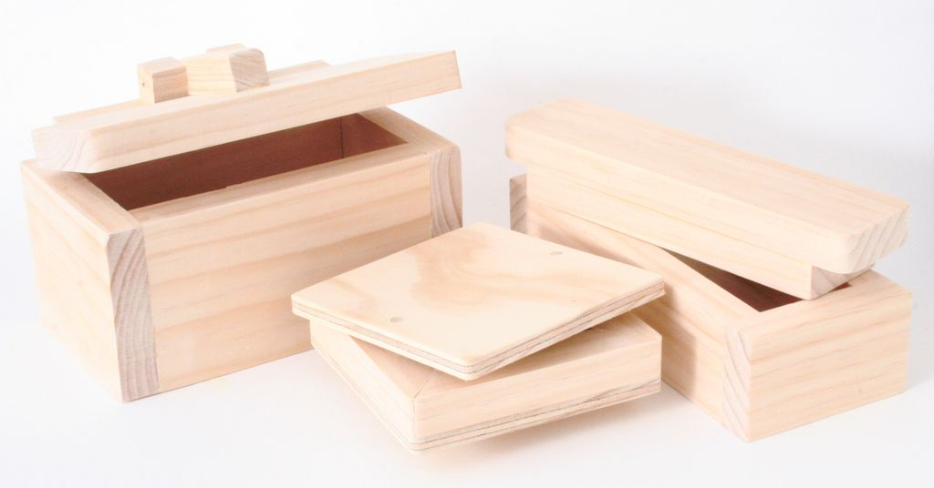 Simple Wood Boxes