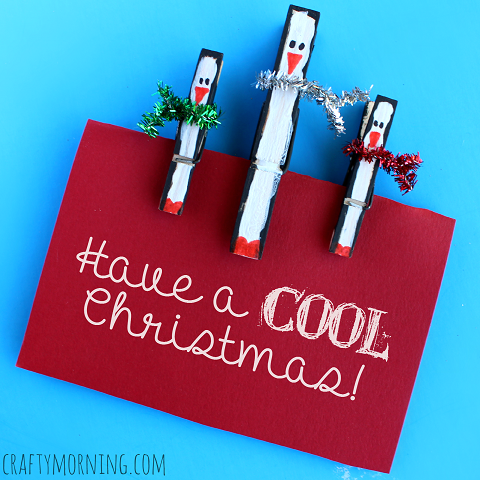 Clothespin Penguins