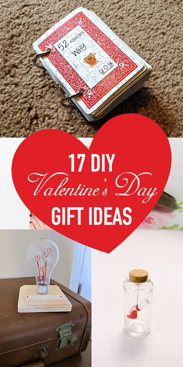 17 Cute AND Easy DIY Valentine's Day Gift Ideas