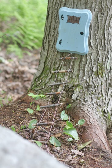 Miniature Fairy Rope Ladder