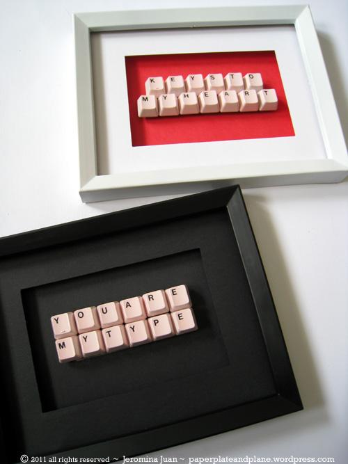 Framed Keyboard Message