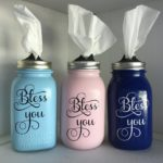 Mason Jar Tissue Dispenser