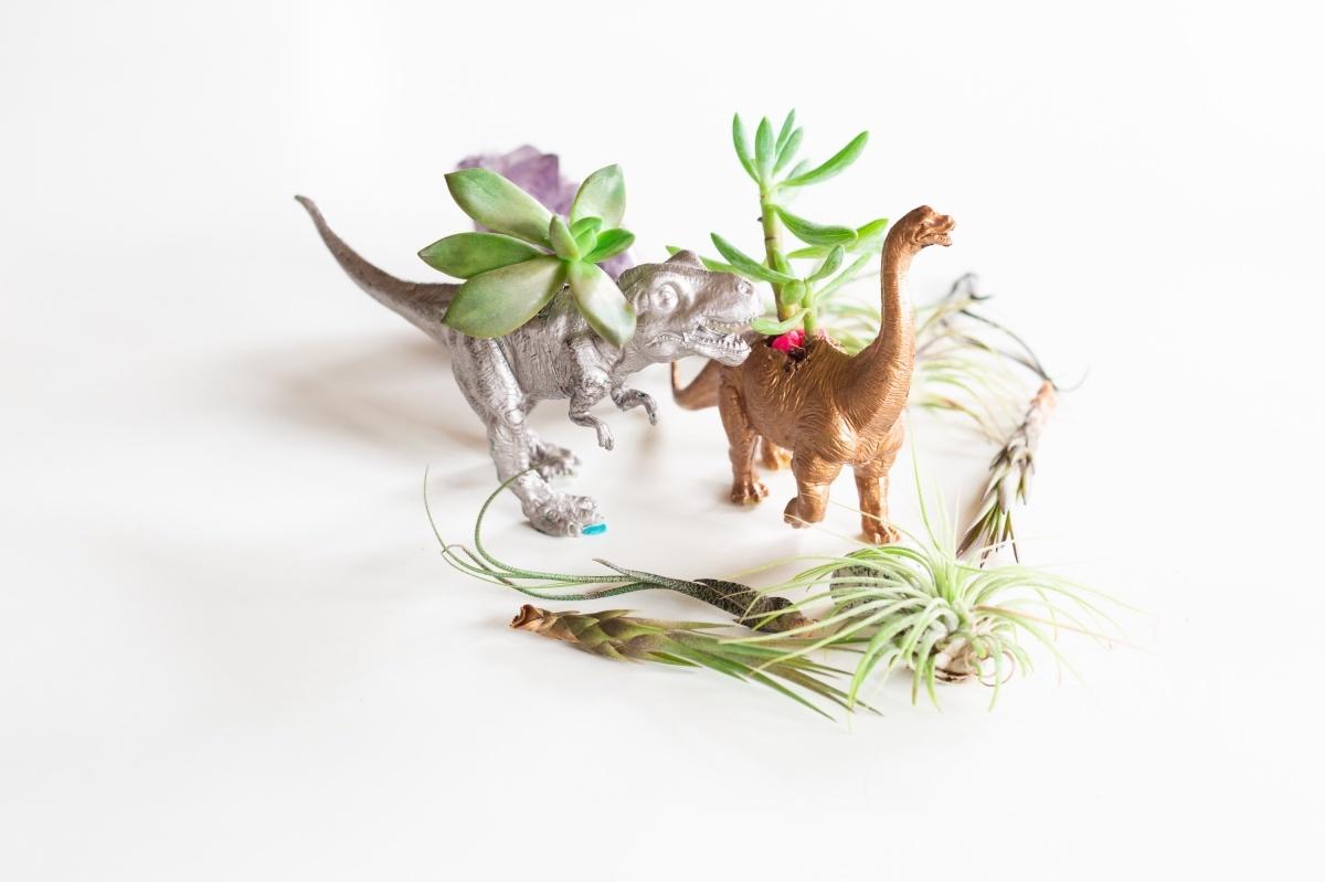 Plastic Toy Planters